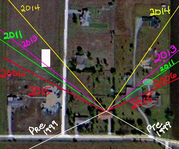 E solar angle changes