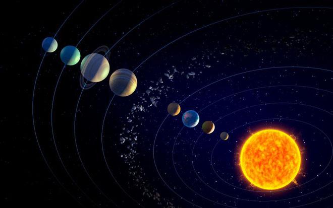 2 asteroid Belt
